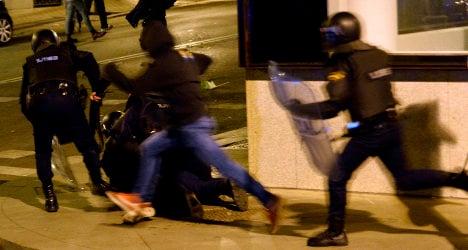 Amnesty International slams Spain on protests