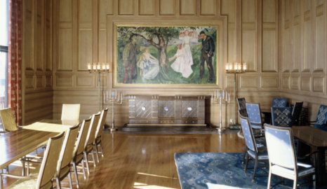 Oslo opens Munch room for priests to marry gays