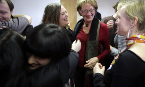 Sweden's feminist party fêtes dramatic poll climb