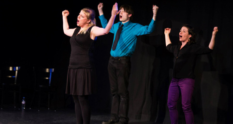 Swiss and Anglo humour mix in improv show