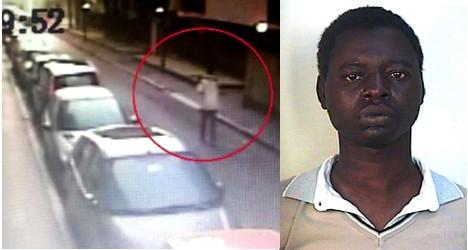 Milan pickaxe killer jailed for 20 years