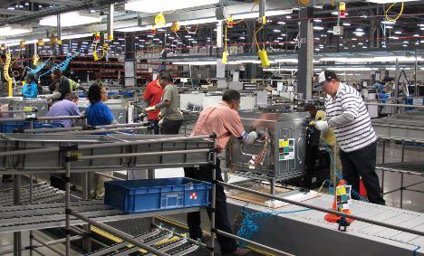 Electrolux first-quarter profits beat predictions