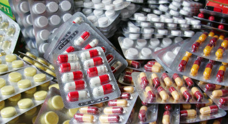 France seizes record haul of fake Chinese pills