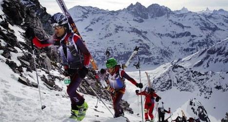 Heavy snow dogs 'glacier patrol' competition