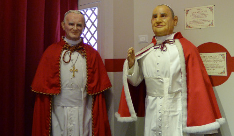 Sing-along saint: Showbiz world gets papal inspiration