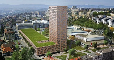 Lausanne residents vote against high-rise 'Taoua'