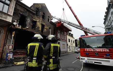 Three bodies found in fire mystery