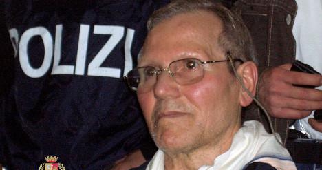 Jailed mafia godfather hospitalized in Milan
