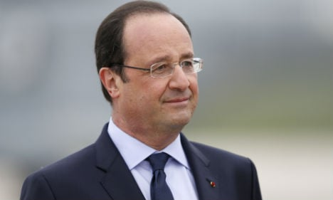 Assad using chemical weapons: Hollande