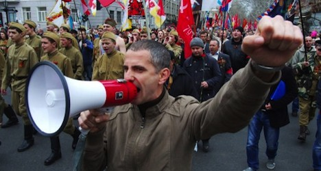Kiev warns of Russian landmines in Ukraine