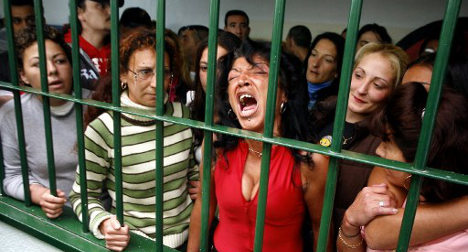 Women behind bars: Spain tops EU table