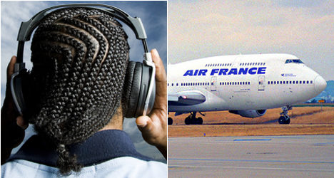 Air France suspends black steward 'for dreads'