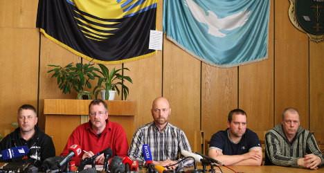 Germany condemns Ukraine hostage capture
