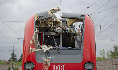Five injured in train crash near Munich