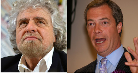 'Nigel Farage is not racist': Beppe Grillo