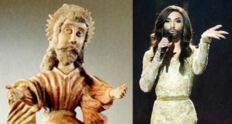 Austrians worshipped bearded woman
