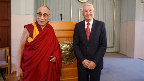 Dalai Lama 'not disappointed' by Norway