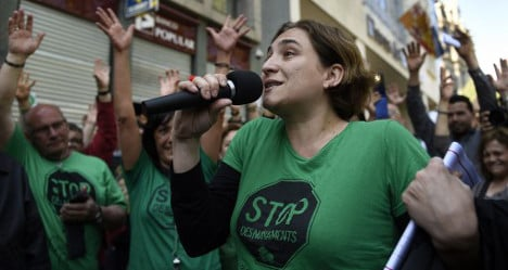 Spain's anti-evictions warrior bows out