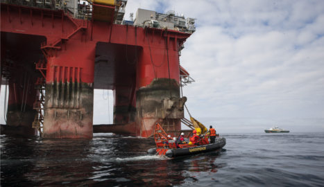 Greenpeace 'appalled' after ship's removal