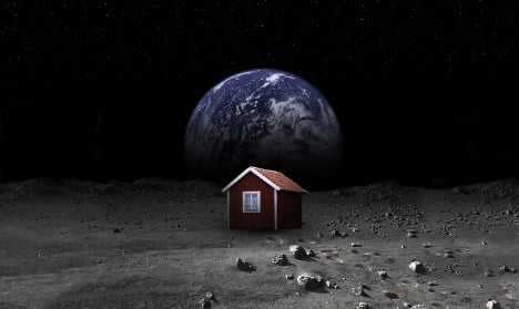 The Swede sending a house to the moon