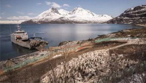 Video: Reindeer take boat to summer island home