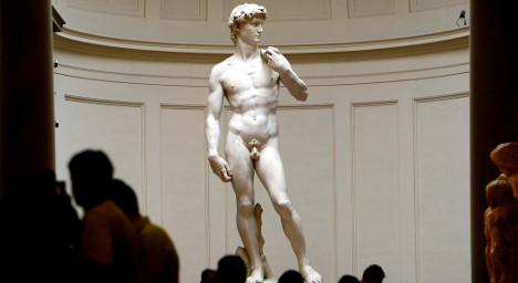'Michelangelo's David statue won't fall down'