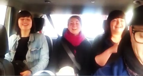 Karaoke cab driver strikes a chord in Rome