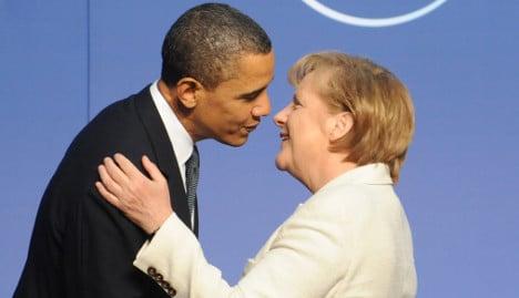 Merkel meets Obama in Washington
