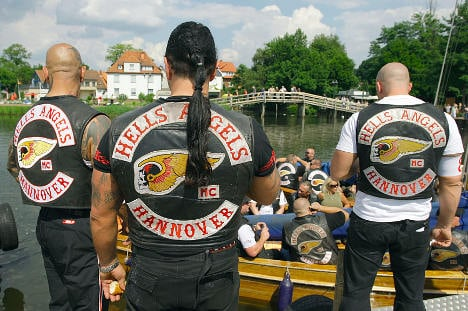 Hells Angels banned from buses and beer