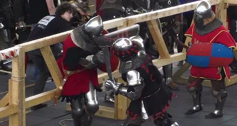 Women wield swords in Spain's Game of Thrones