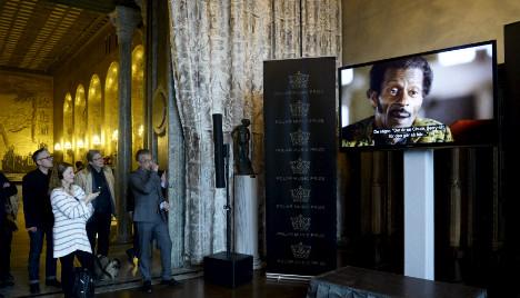 Chuck Berry plucks Swedish music 'Nobel'