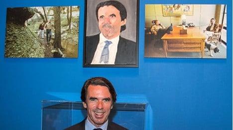 Surreal: George W. Bush paints Spain's ex-PM