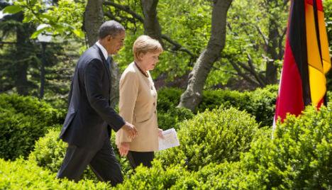 Obama & Merkel: Spying differences still remain
