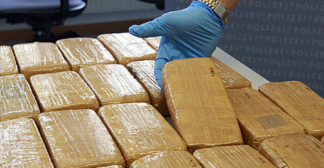 Austria intercepts huge heroin shipment