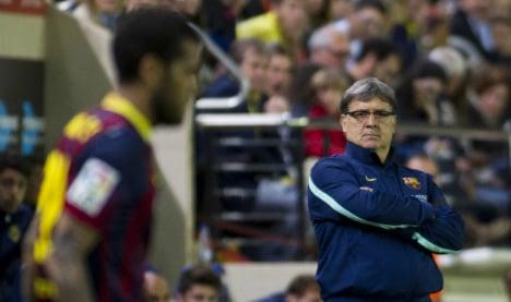 Martino mulls Barça future after Getafe draw