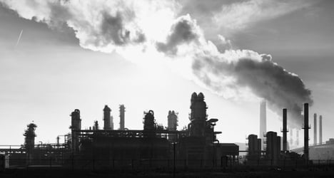 Spain's carbon dioxide emissions plummet