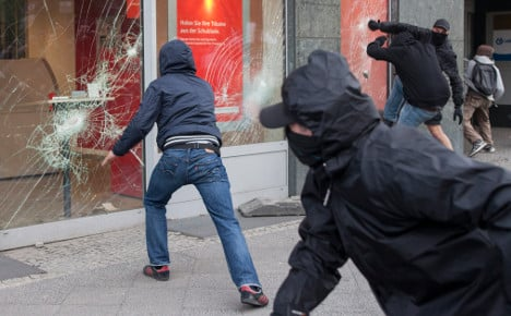 Police brace for violence at May 1st demos