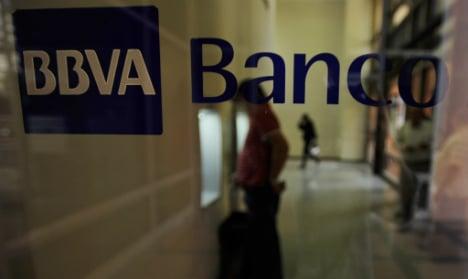 Profits plunge at Spanish bank BBVA