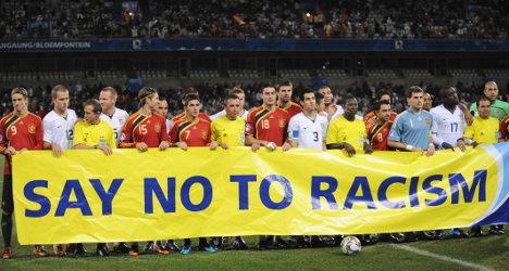 Uefa slams Spain over racist football fans