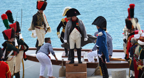 'Napoleon' sent back into exile 200 years on