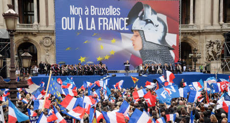 Far-right and left march in rival May Day rallies