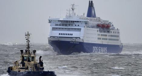 Blaze on cross-Channel ferry leaves ten injured