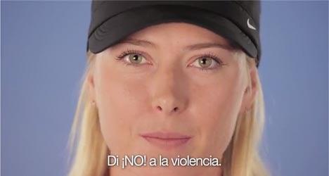 Top tennis stars slam domestic abuse in Spain