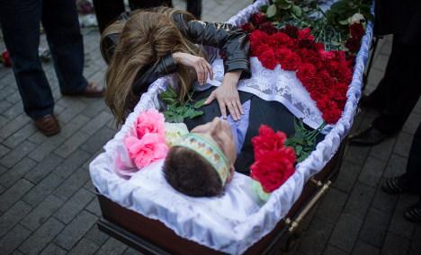 Germany warns of 'point of no return' in Ukraine