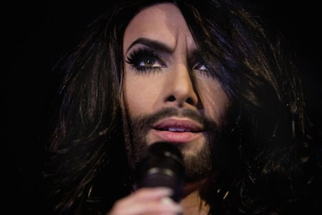 Bearded Eurovision drag queen courts controversy