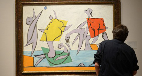 Picasso painting fetches €22 million in NY auction