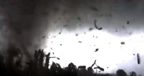 Three injured as tornado strikes Italy