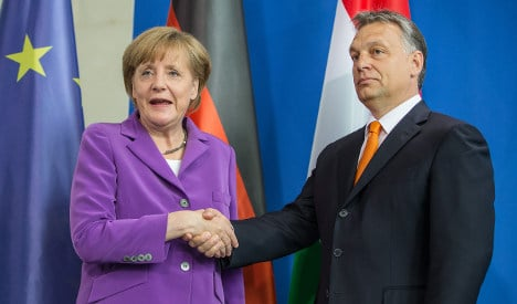 Orbán to Merkel: Thanks for your support