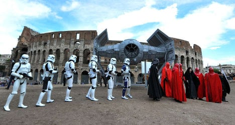 May the 4th be with you: Star Wars Day in Rome