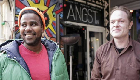 Artists' human zoo starts Kenya Twitter war